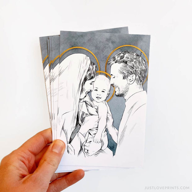 The Holy Family 4x6 Print Bundle