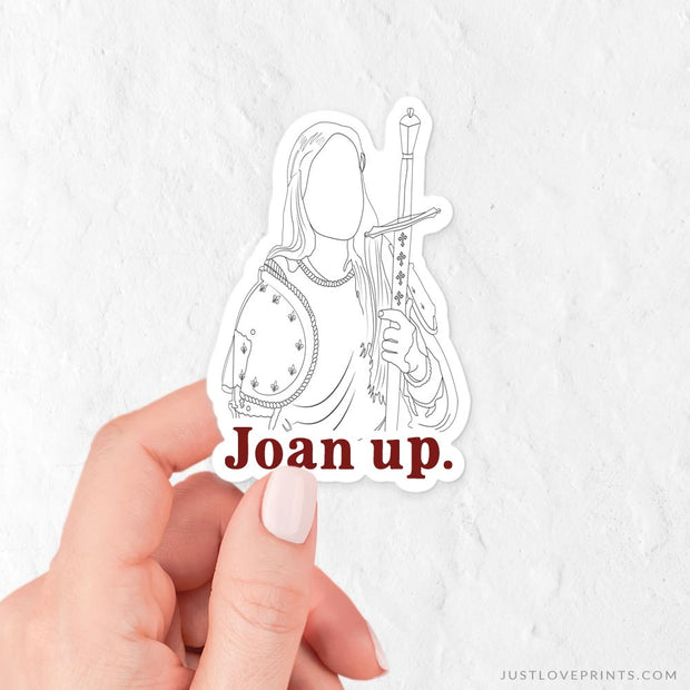 """Joan Up"" Vinyl Sticker"