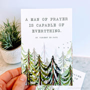A Man of Prayer 4x6 Print Bundle