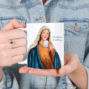 "Blessed Mother ""Sipping with the Saints"" Mug"