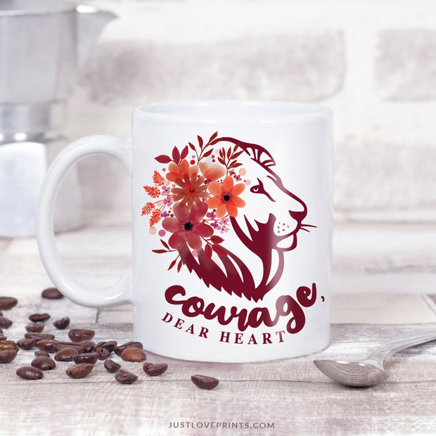 Courage, Dear Heart Mug