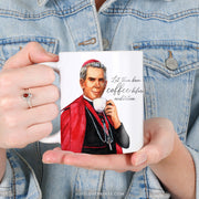 "Fulton Sheen ""Sipping with the Saints"" Mug"