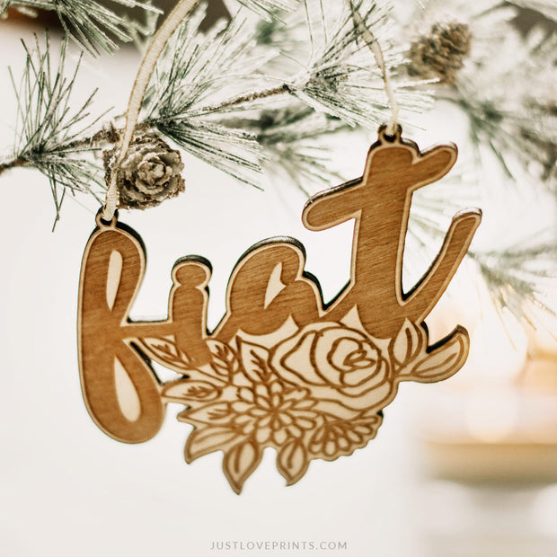 LAST CHANCE SALE | Mary's Fiat Ornament