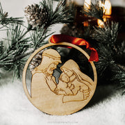 LAST CHANCE SALE | Holy Family Ornament