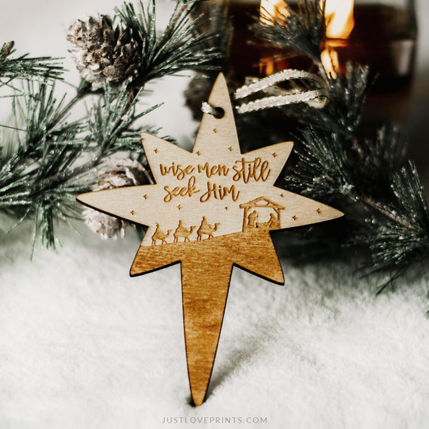 LAST CHANCE SALE | Wise Men Still Seek Him Ornament