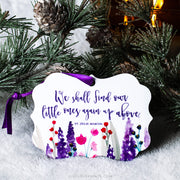 "LAST CHANCE SALE | ""We shall find our little ones again up above"" Ornament"