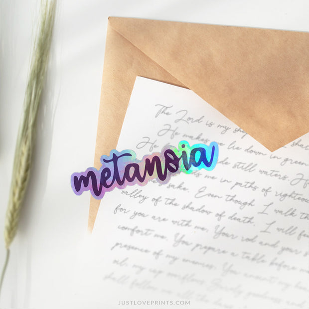 "Metanoia ""Conversion"" Vinyl Sticker"