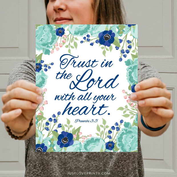 Trust In The Lord With All Your Heart | Proverbs 3:5