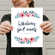 Whatever God Wants | St. Gianna Molla