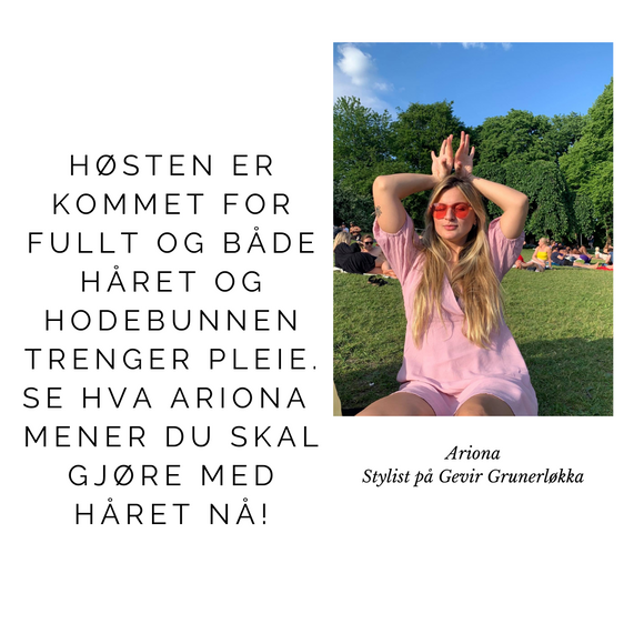 Ariona sine must-have produkter for høst og vinter