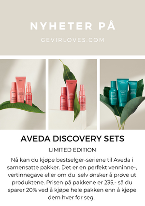 Nyheter fra Aveda; Discovery Sets og Daily Moisturizing Treatment