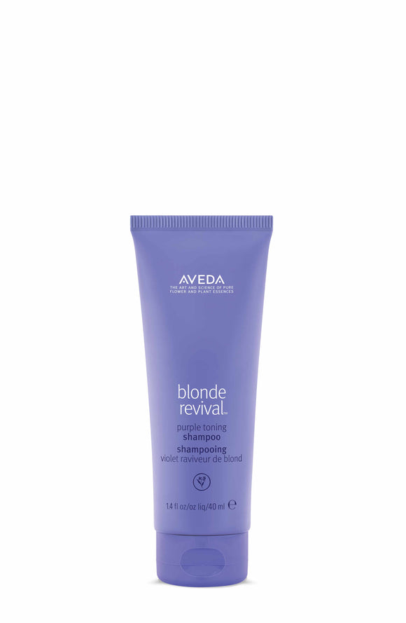 Blonde Revival Purple Toning Shampoo Travel Size