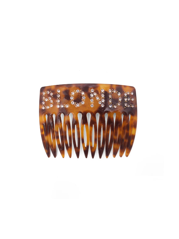 Blonde Hair Comb