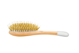 Wooden hair brush - Boar & Nylon bristles, small