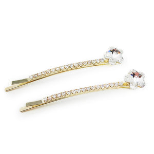 Pentagon Star Hair Pin 2pk