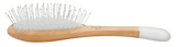 Wooden detangling brush - Nylon bristles