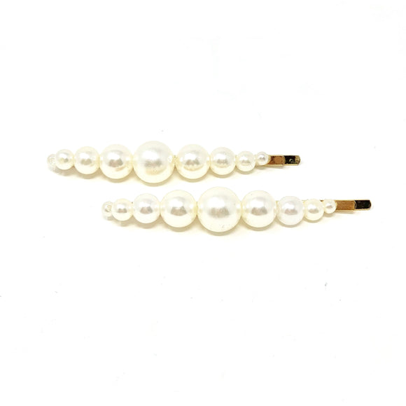 Bubble & Pearl Pin 2pk