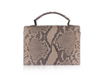 Top Handle Crossbody - Taupe Diamond
