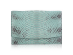 Envelope Clutch - Turquoise Diamond