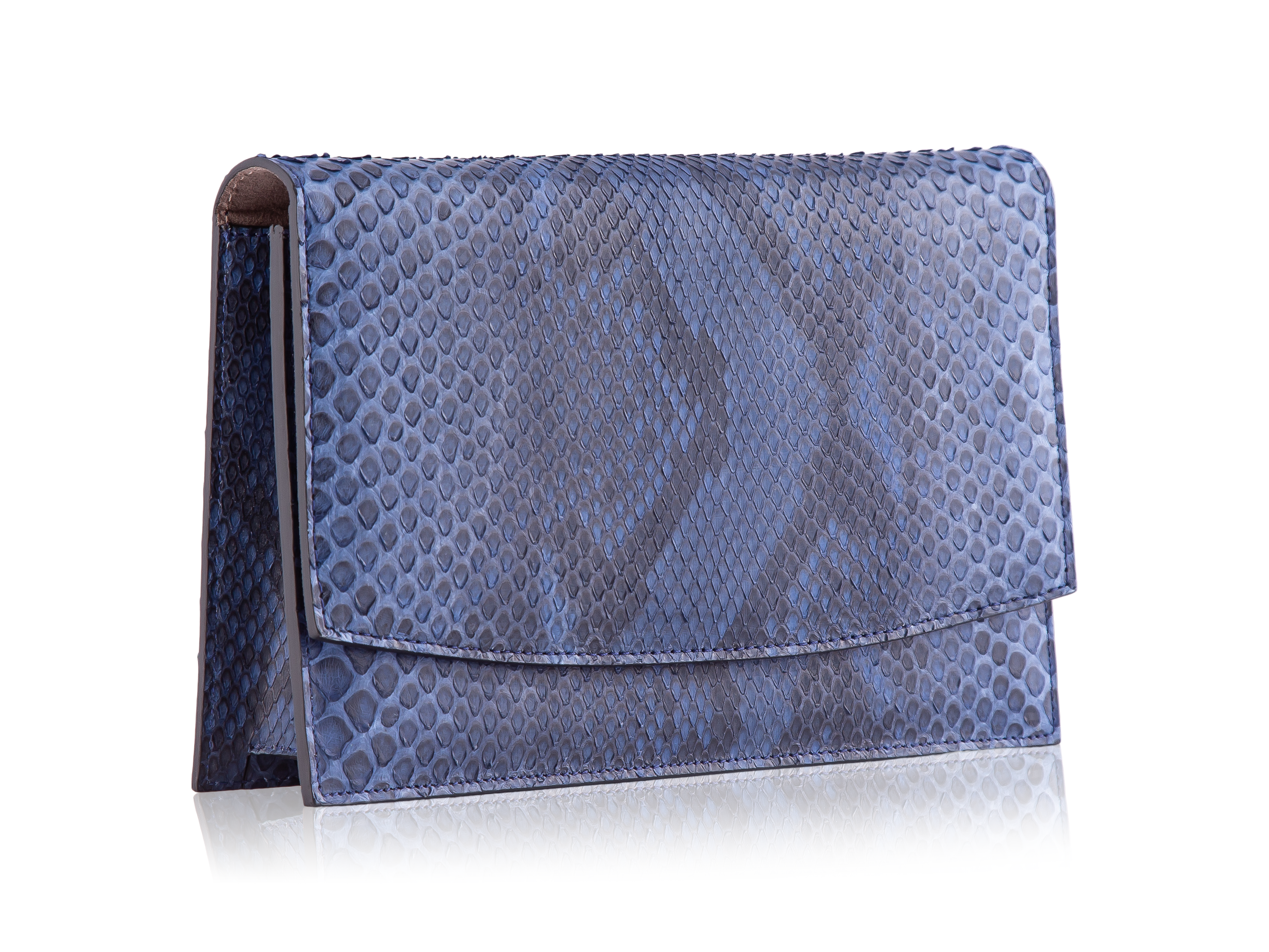 Envelope Clutch - Navy Diamond