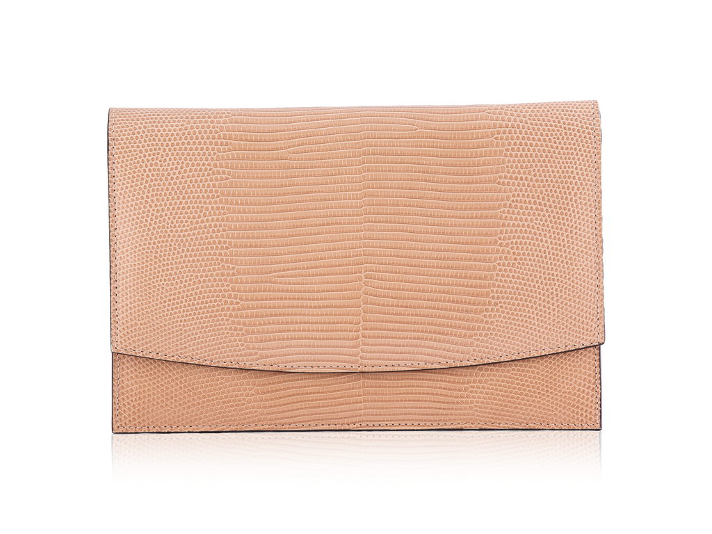Envelope Clutch - Tan