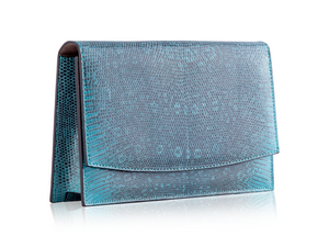 Envelope Clutch - Turquoise Ring