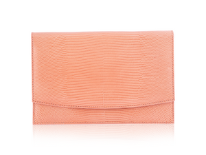 Envelope Clutch - Peach