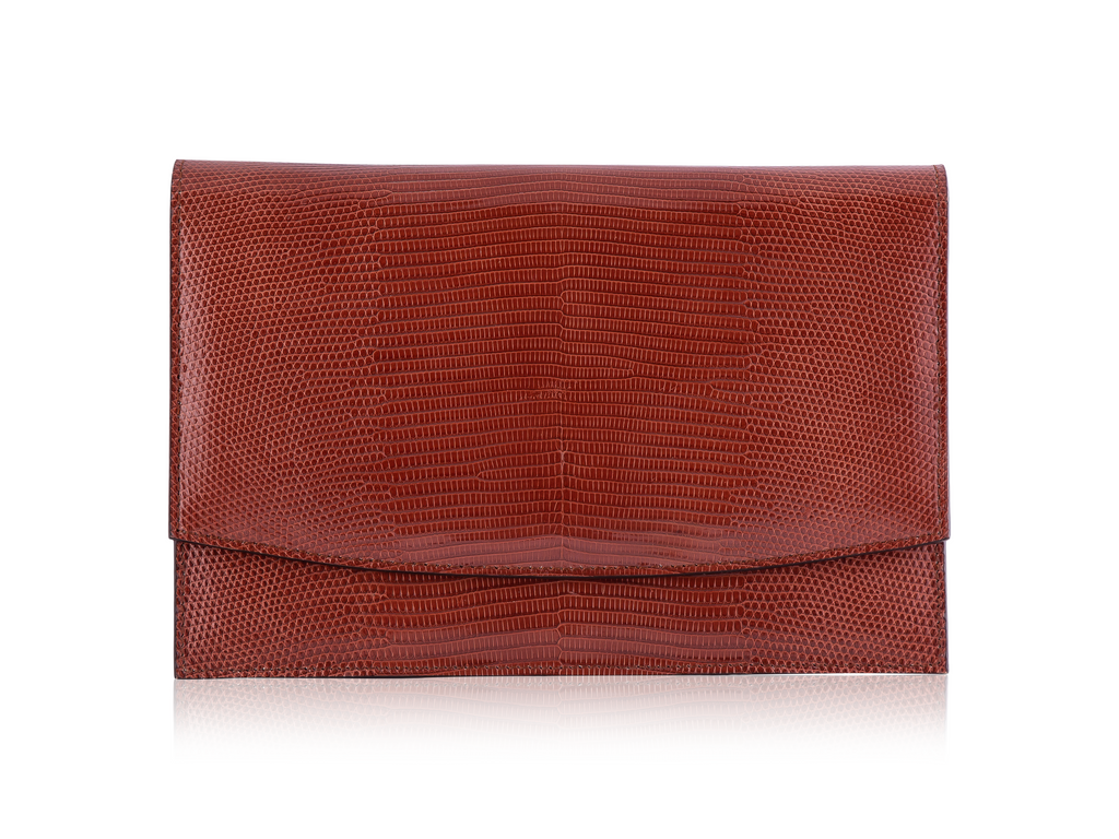 Envelope Clutch - Redwood