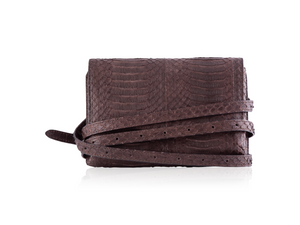 Small Convertible Crossbody - Chocolate Brown