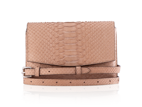 Small Convertible Crossbody - Saddle