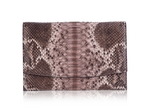 Envelope Clutch - Diamond Natural