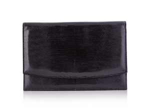 Envelope Clutch - Black