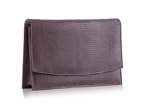 Envelope Clutch - Matte Cocoa