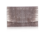 Envelope Clutch - White Ring