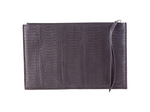 Large Zipper Pouch - Snake Skin