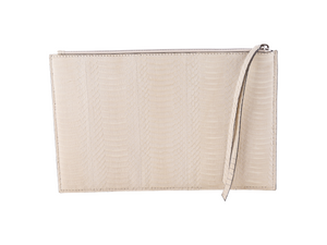 Small Zipper Pouch - Snake Skin