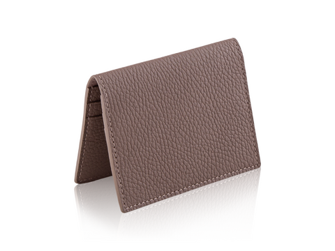 BiFold Wallet - Pebbled Leather