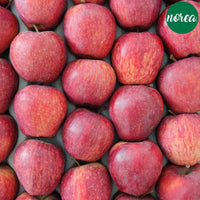 Certified-Organic Red Apples Fruits NOREA 1 KG