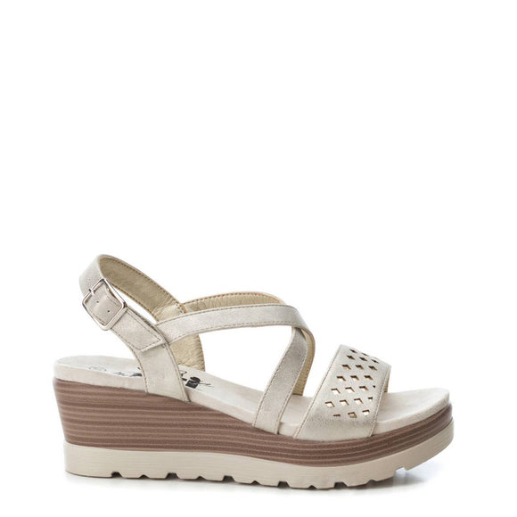 Xti - Laser Open Work Wedge Sandals - Two Styles - i Love Fashion 365 - Zovasa