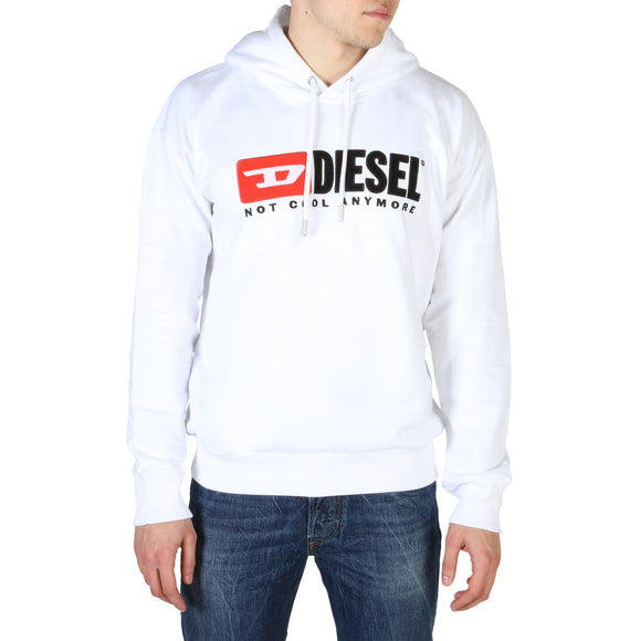 Diesel - Division - Men's White or Grey Hoodie Sweatshirt - i Love Fashion 365 - Zovasa