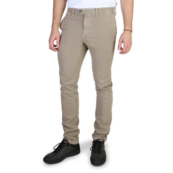 Tommy Hilfiger - Men's Light Brown Trousers - I Love Fashion 365 - Zovasa