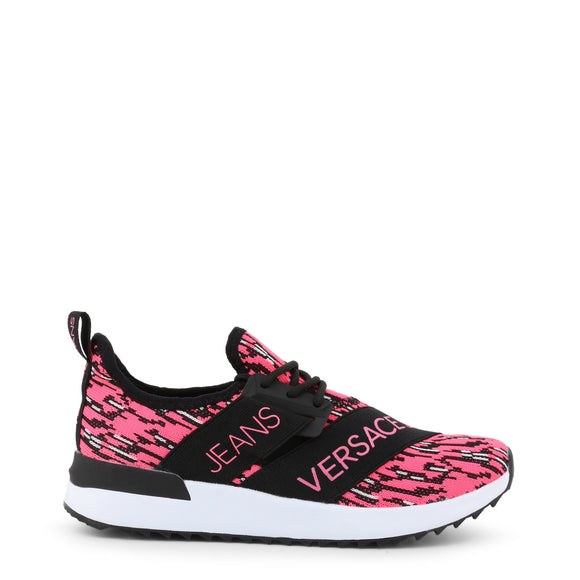 Pink & Black Day Kicks by Versace Jeans - i-love-fashion-365