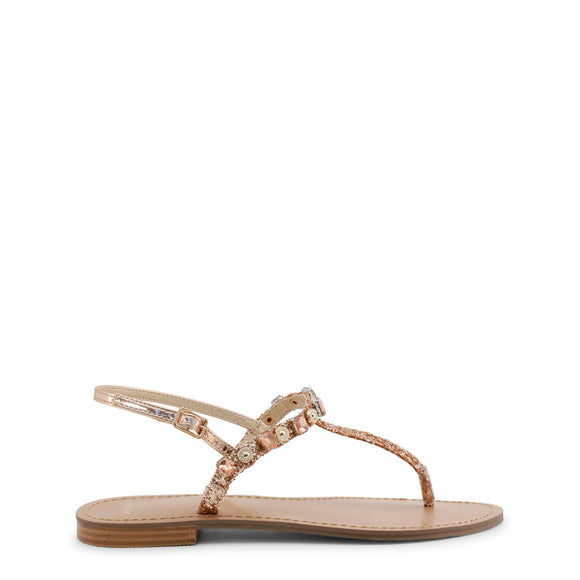 Versace Beaded Minimal Sandals - part of the Versace Jeans Collection