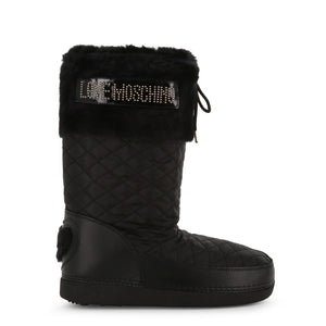 Love Moschino - Fuzzy Love Snow Boots by Moschino - i Love Fashion 365