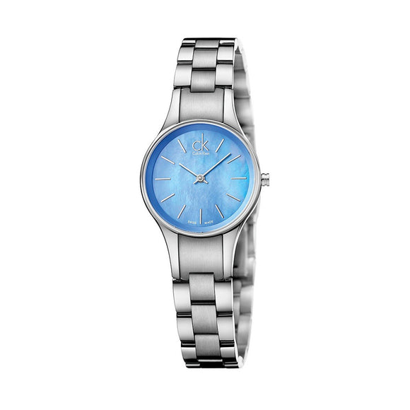 CK Sapphire Stainless Steel Watch 28mm - Classic Simplicity - Calvin Klein - i-love-fashion-365