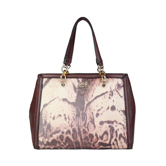 Cavalli Class - Stylish Leather Shoulder Bag by Roberto Cavalli - i-love-fashion-365