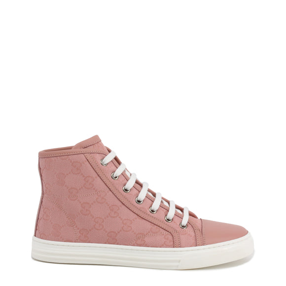Gucci - High Top Canvas Sneakers