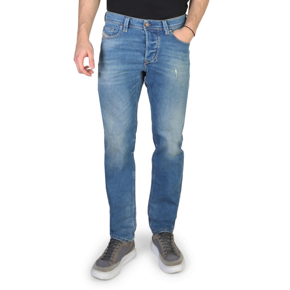 Diesel - Larkee Beex - Men's Distressed Blue Jeans - Regular Fit - i Love Fashion 365 - Zovasa