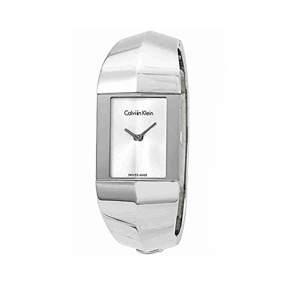Calvin Klein Sleek Stainless Steel Watch with Black or Light Grey Dial - i-love-fashion-365