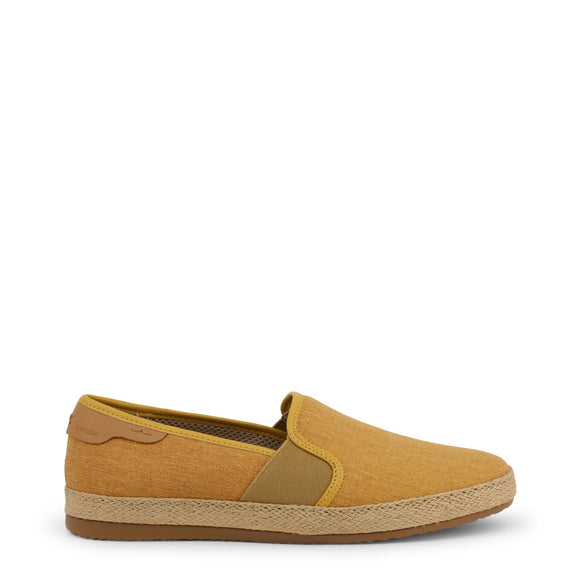 Geox - Copacabana - Men's Curry Slip On Shoes - Solid Ochre - i Love Fashion 365 - Zovasa